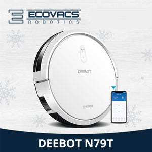 ECOVACS Deebot N79T Robot Vacuum Cleaner+ Home Support+Apps Control