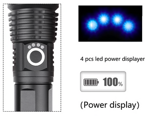 LUMI ZOOM® Tactical Flashlight