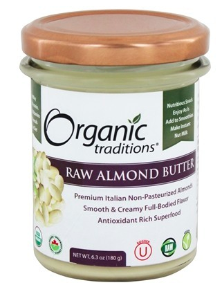 Raw Almond Butter - 6.3 oz.