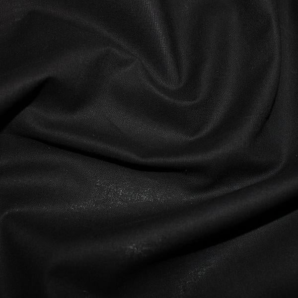 100% Cotton Sheeting 237cm Wide Black