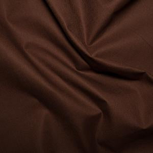 100% Plain Cotton Klona Fabric 135cm/54 inches Wide Brown