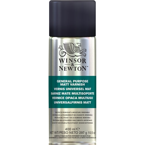 Winsor & Newton General Purpose spray varnishes