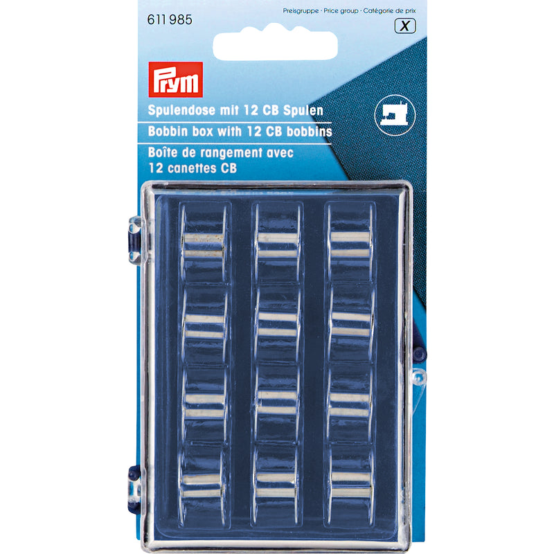 Prym Bobbin Box with Bobbins