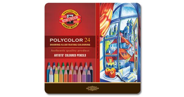 Koh-I-Noor Polycolour Pencil Tin Sets