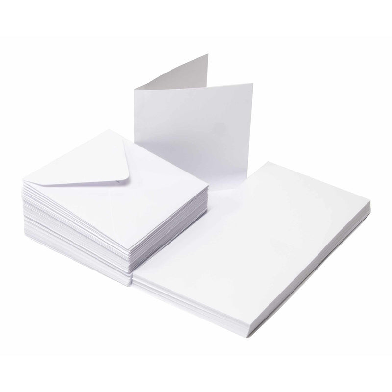 "50 Pack Cards & Envelopes - 3"" x 3"""