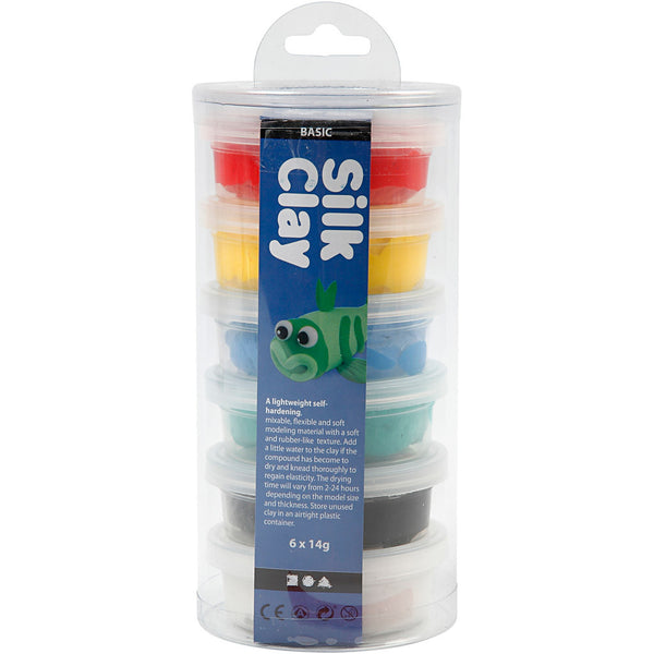 Silk Clay - Assorted Colours Basic 1