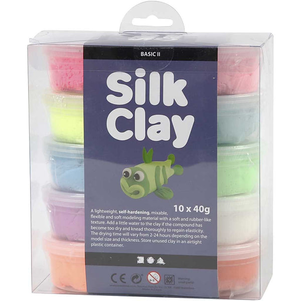 Silk Clay - Assorted Standard Colours Basic 2