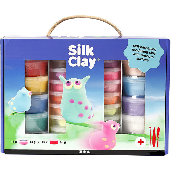 Silk Clay Set - Assorted Colours