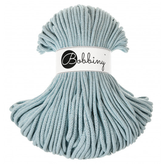 BOBBINY BRAIDED CORD 5MM 100M/108YDS - Silverly Misty