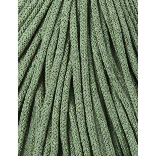 BOBBINY BRAIDED CORD 5MM 100M/108YDS -  Eucalyptus Green