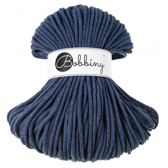 BOBBINY BRAIDED CORD 5MM 100M/108YDS - Jeans