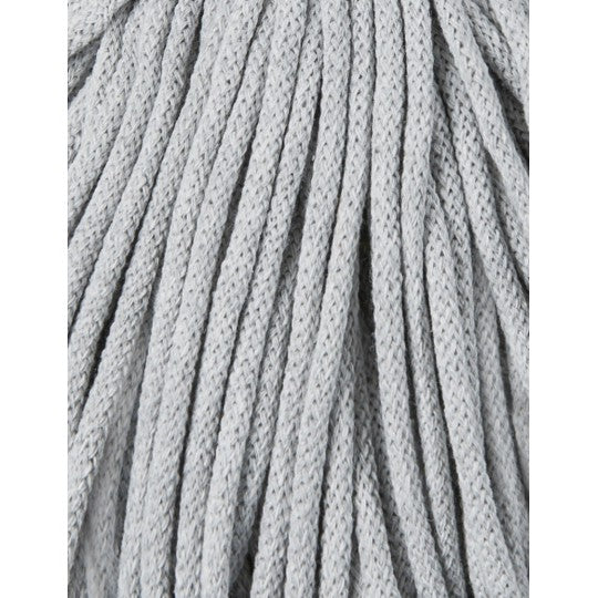 BOBBINY BRAIDED CORD 5MM 100M/108YDS - Light Grey