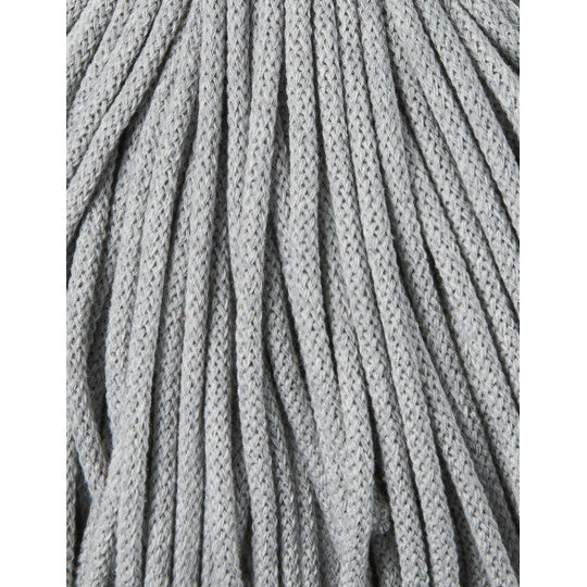 BOBBINY BRAIDED CORD 5MM 100M/108YDS - Silver