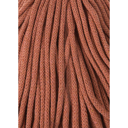BOBBINY BRAIDED CORD 5MM 100M/108YDS - Terracotta