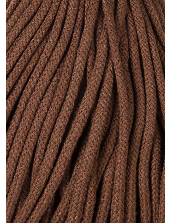 Bobbiny 5mm Macrame Recycled Cotton Rope Cord 100m Mocha