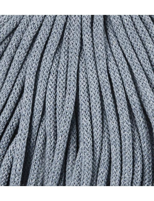 Bobbiny 5mm Macrame Recycled Cotton Rope Cord 100m Raw Denim