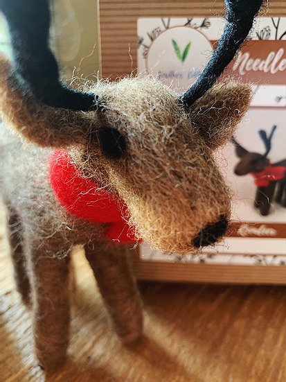 Reindeer - Needle Felting Kit