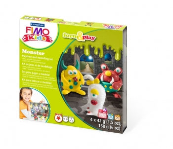 Fimo Form & Play Set - Monster
