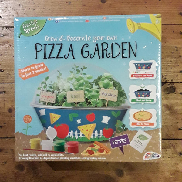 Grow And Decorate Your Own Pizza Garden