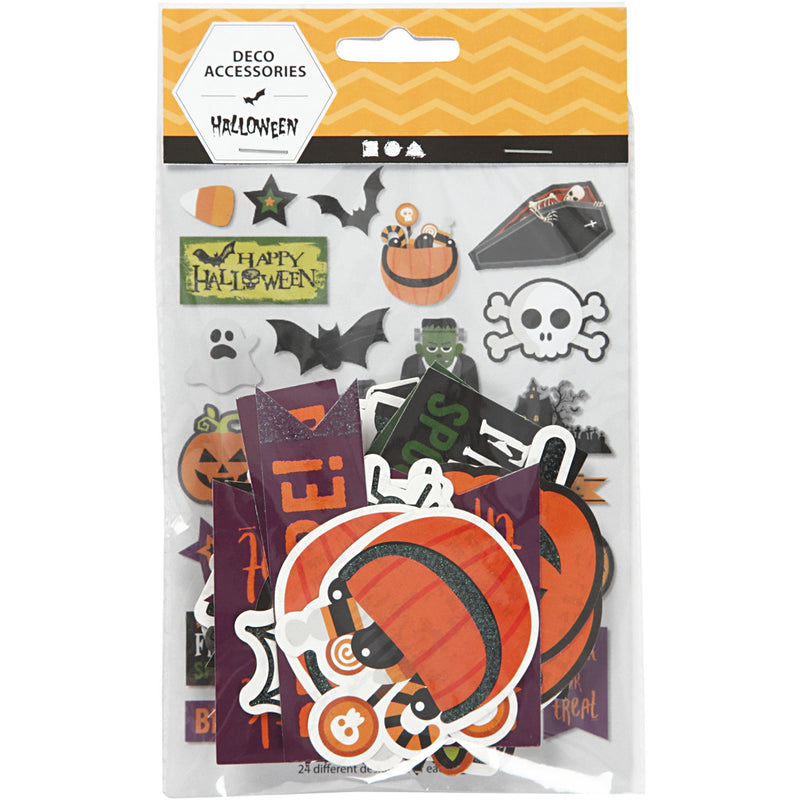 Spooky Gift Tags - 24 Assorted