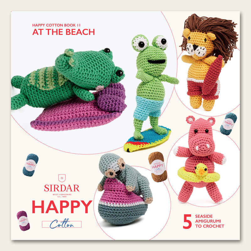 Happy Cotton Crochet Pattern Booklet 11