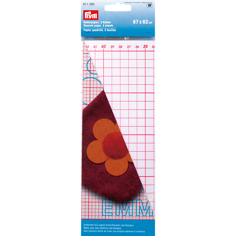 Prym Squared Paper for Pattern Making