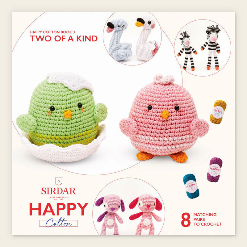 Happy Cotton Crochet Pattern Booklet 3