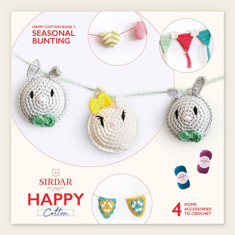 Happy Cotton Crochet Pattern Booklet 7