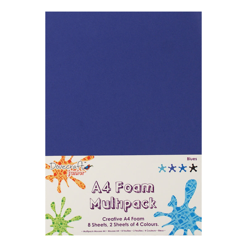 Dovecraft A4 Foam Multipack