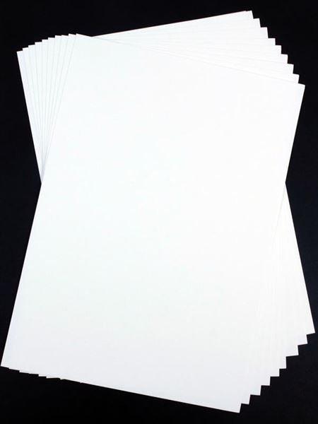 A4 White Card Packs - 10 Sheets