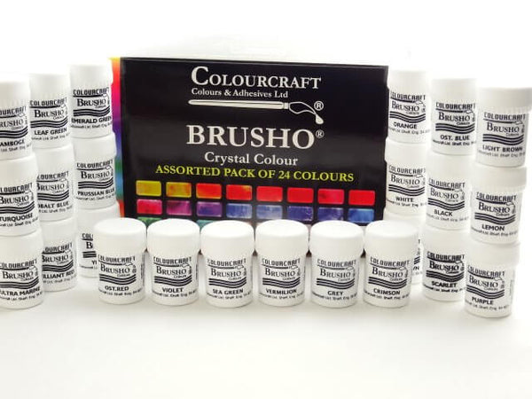Brusho Set 24 Colours