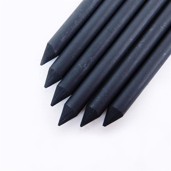 Charcoal Leads for Koh-i-Noor 5.6mm 5347 Lead Holder - 6 pack