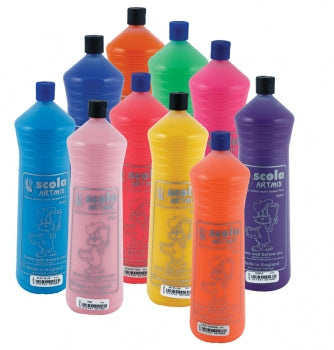 Scola Readymix Poster Paint - 600ml