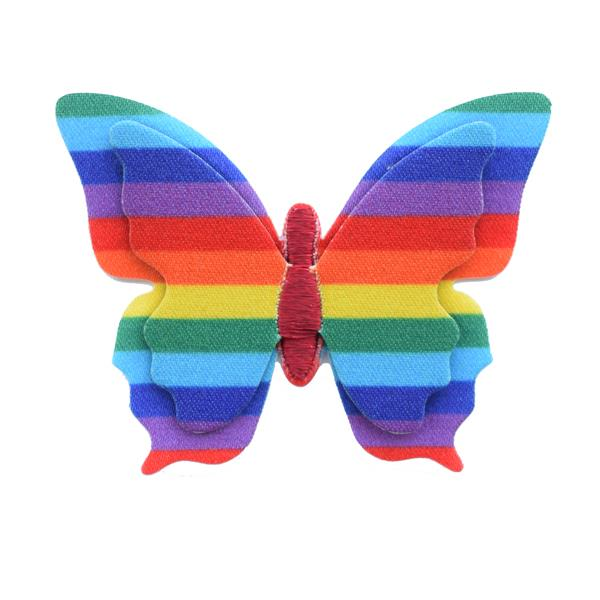 Rainbow Layered Butterfly