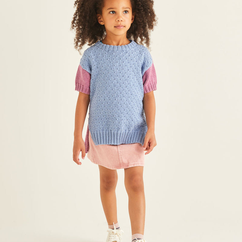 Kids Short Sleeve Sweater 2549