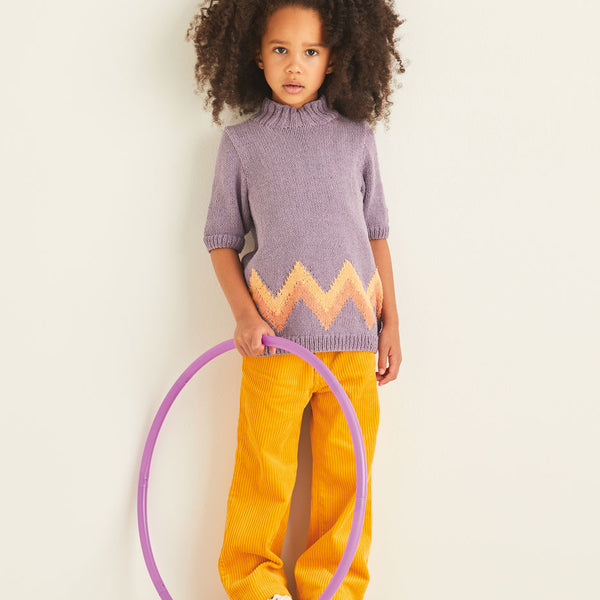 Kids ZigZag Sweater 2545