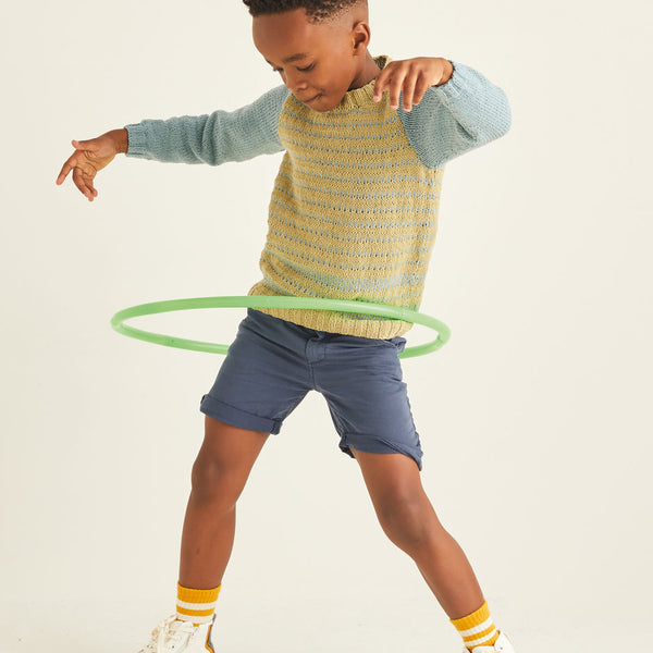 Kids Hooped Sweater 2539