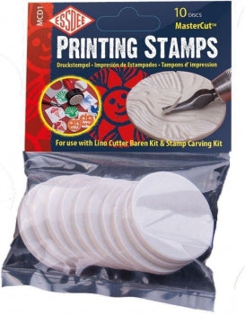MASTERCUT(TM) PRINTING STAMPS PACK OF 10
