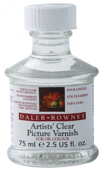Daler Rowney Artists Clear Oil Picture Varnish Gloss 75ml