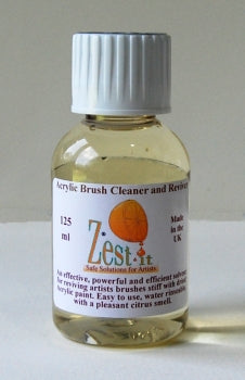 Zest-it Acrylic Brush Cleaner - 125ml