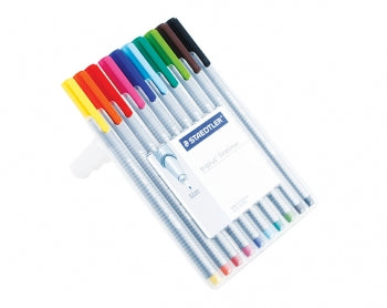 Staedtler Brilliant Colours Triplus Set of 10