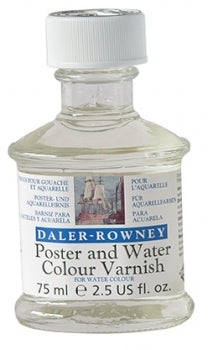 Daler Rowney Poster and Watercolour Varnish - 75ml