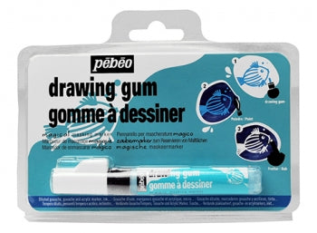 Pebeo Drawing Gum Pen - 1 Pen 4mm