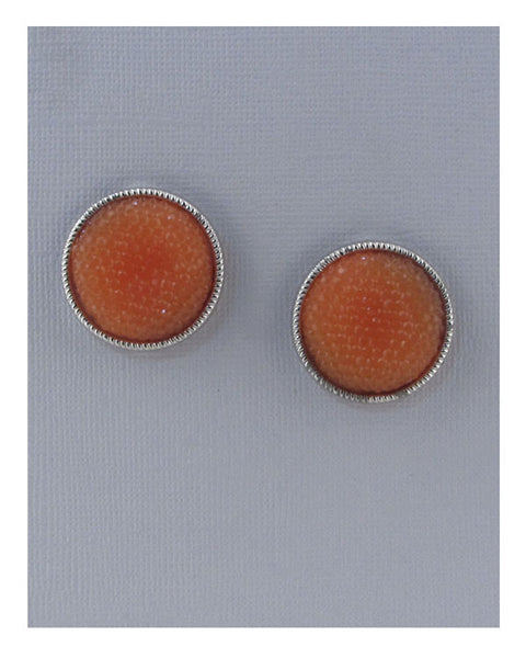 Colored Rhinestoned round Studs - Kendalls Deals