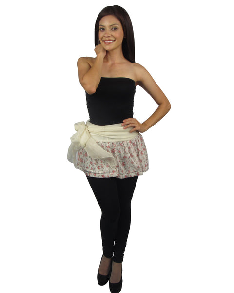 Floral flared mini skirt - Kendalls Deals