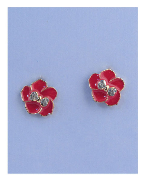 Flower stud earrings - Kendalls Deals