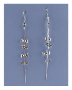Drop bow earrings - Kendalls Deals