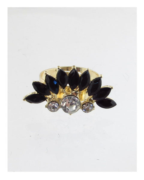 Faux stone adjustable ring - Kendalls Deals