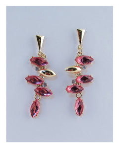 Drop faux stone earrings - Kendalls Deals