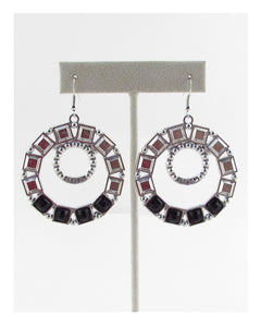 Crop circle earring - Kendalls Deals